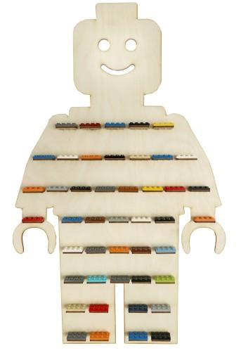Półka Na Klocki Ludziki Lego Regał Ludzik Cobi