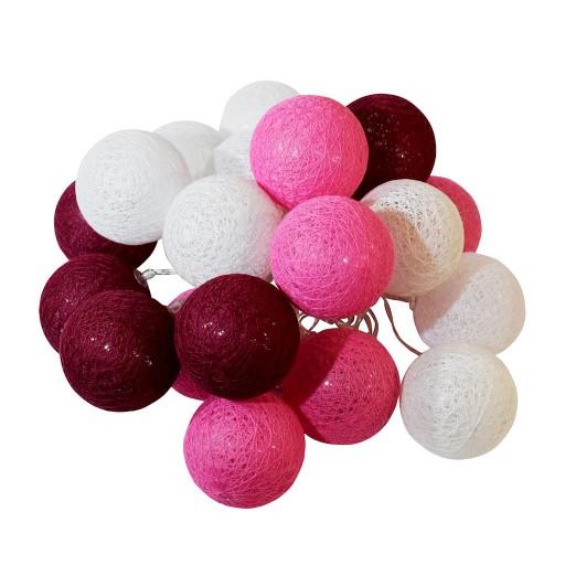 Kule Dekoracyjne Led Cotton Balls 20szt Ledison 8195852040 Allegro Pl