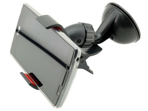 Uchwyt do auta szczęki szyba do telefonu HTC Flyer