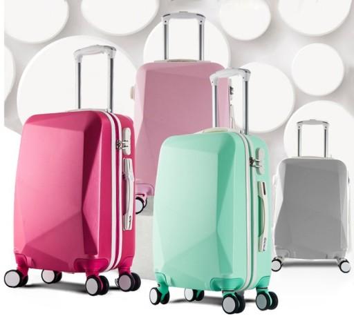 63344cd78d0e2 WALIZKA PODRÓŻNA RYANAIR WIZZAIR DIAMOND 20 bagaż Rodzaj walizki twarde