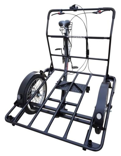 HEAVY DUTY Rower CARGO! do 250 kg! duża platforma!