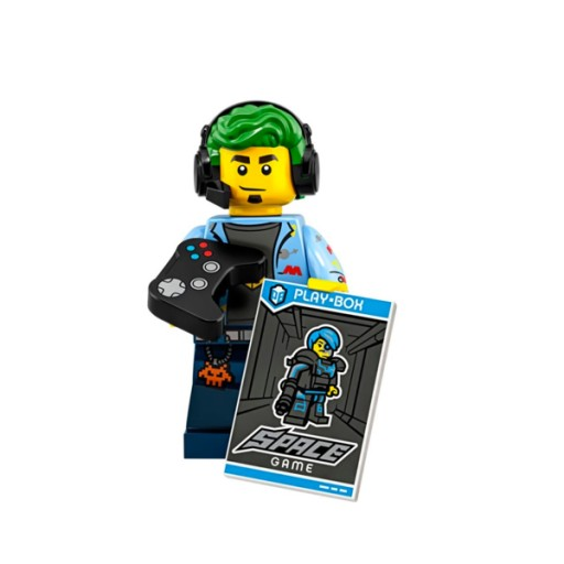 LEGO 71025 SERIES 19 COL19-1 VIDEO GAME CHAMP