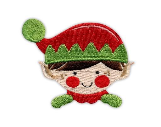 Naszywka Elf Świętego Mikołaja-Christmas Elf-HAFT