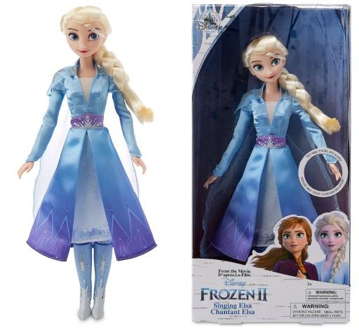 Lalka Elsa 30 Cm Disney Store Spiewa Frozen 2 8690300078 Allegro Pl