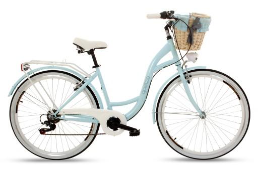 Damski rower miejski GOETZE 28 Mood 6b Shiman kosz