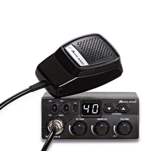 RADIO CB MIDLAND M-ZERO PLUS AM/FM