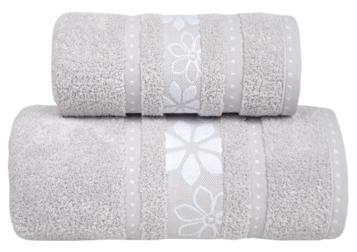 Ręcznik Margarita 70x140 Popielaty Greno