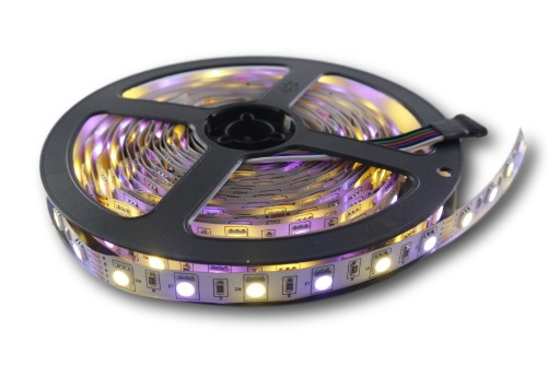 Taśma 5050 300 LED RGBWW kolor + biały ciepły 0,5m