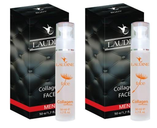 Kolagen Naturalny Laudine Face MAN 100 ml (2x50ml)