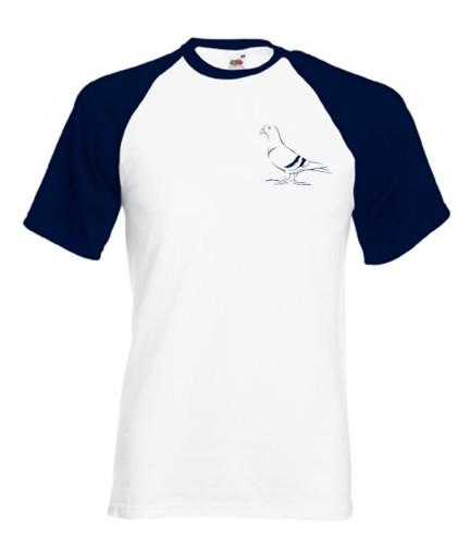 Koszulka z haftem dla hodowców gołębi