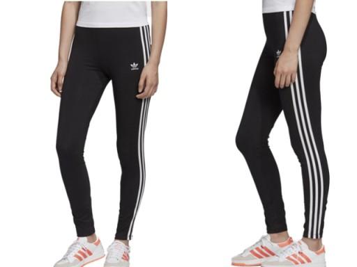 Fm3287 Damskie Spodnie Leginsy Adidas Bawelniane 9044481180 Allegro Pl