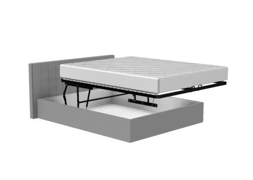 Pojemnik łóżka 180x200 Automat Gaz Funkcja ścieleń