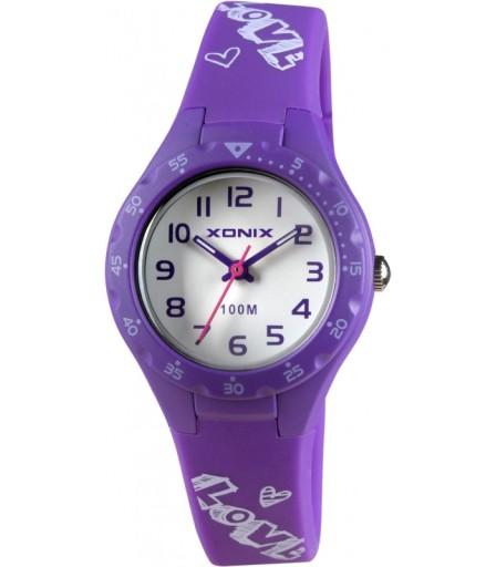 Zegarek DZIECIĘCY dziewczynki Xonix WODOODPORNY