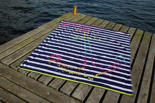 Duży Ręcznik Plażowy Dwuosobowy 145x170 7937771023 Allegro Pl