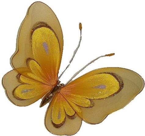Modne Motyle Firany Wystrój Brokat Dekoracja Okno