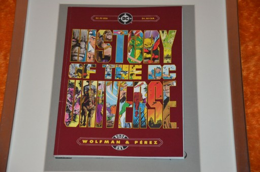 HISTORY OF DC UNIVERSE BOOK 1 1986 GRAPHIC NOVEL