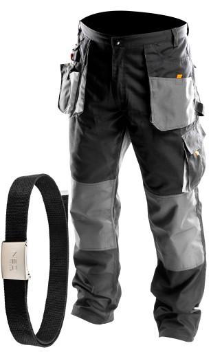 NEO Spodnie robocze monterskie długie + PASEK