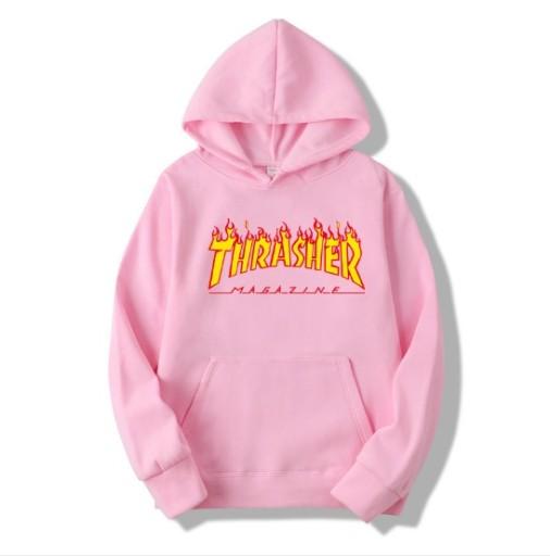 thrasher pink bluza