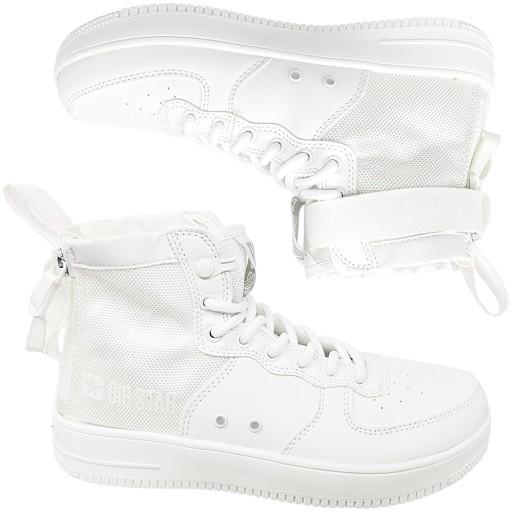 Trampki Big Star damskie białe buty EE274648 38