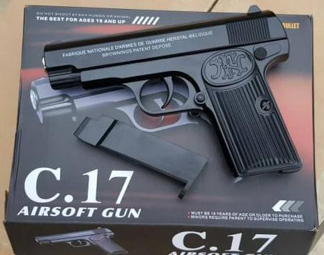 Pistolet Metalowy C17 Browning Wiatrowka Kulki 6mm 8870086907 Allegro Pl