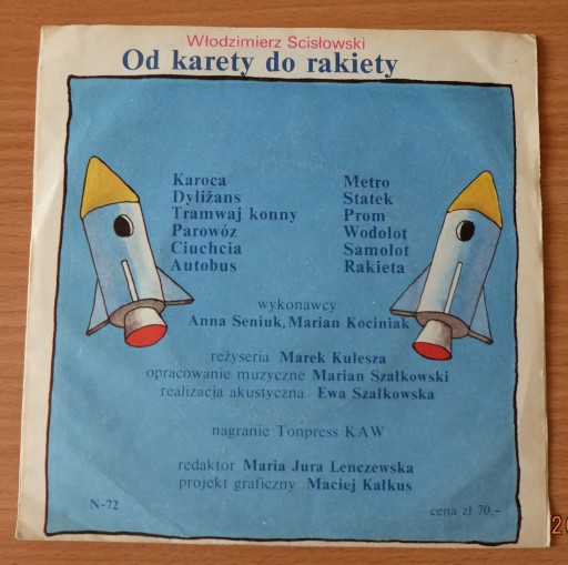Od Karety Do Rakiety Scisłowski Wiersze
