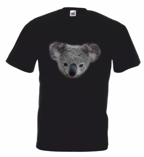 Koszulka męska Z Misiem Koala r L 10170871242 Odzież Męska T-shirty IB YHOYIB-8