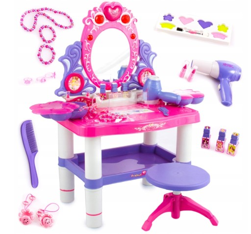 Kinderplay Toaletka Dla Dziewczynki Suszarka 8247614987 Allegro Pl