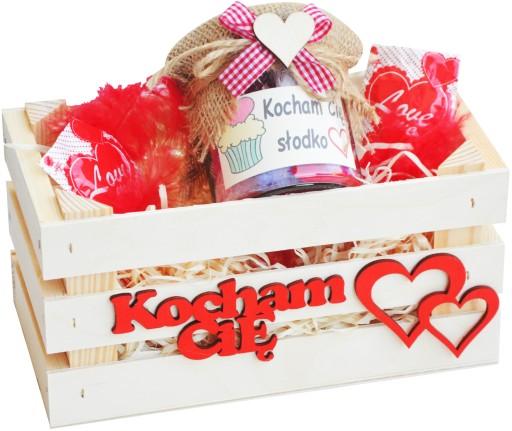 Slodki Prezent Na Walentynki Oryginalny Zestaw 8902002276 Allegro Pl