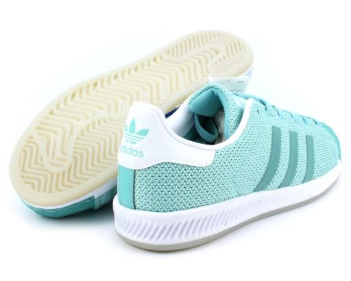 Adidas Superstar Bounce r. 38 damskie buty miętowe