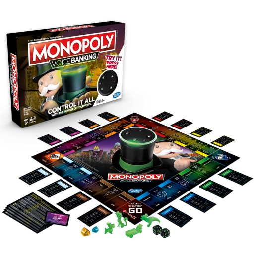Hasbro Monopoly Voice Banking Gra Rodzinna Ang 109 99 Zl 9021626031 Allegro Pl