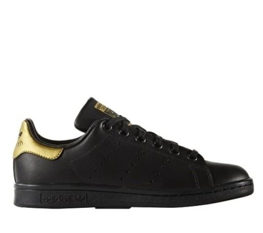 świetne oferty więcej zdjęć 50% ceny ADIDAS Stan Smith BB0208 buty czarne złote r 36