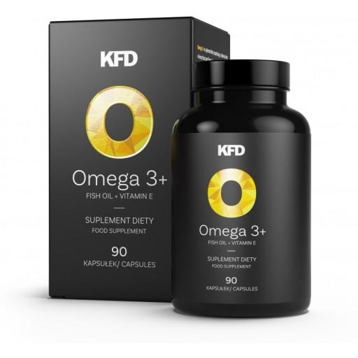 KFD OMEGA 3+ 90 kaps. - 330 EPA + 220 EPA + WIT. E