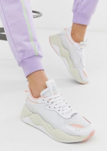 Puma – Rs X Tech – Różowe buty sportowe