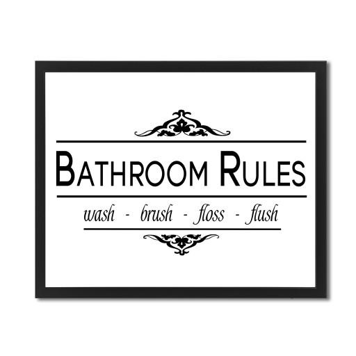 Plakaty Do łazienki Plakat Z Napisami 50cm Wybór