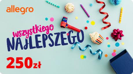Karta Podarunkowa Urodziny - 250 zł