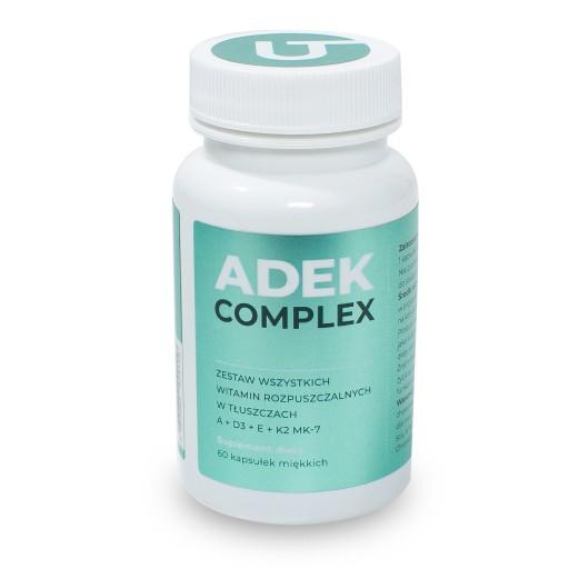 ADEK COMPLEX witamina A D E K2 MK-7 Visanto Zięba