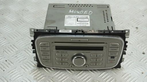 FORD MONDEO MK4 РАДИО 6000 CD 8S7T18C815AA купить с доставкой из Польши с Allegro на FastBox 8729180682
