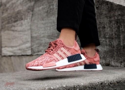 buty damskie adidas originals nmd_r1 pink róż