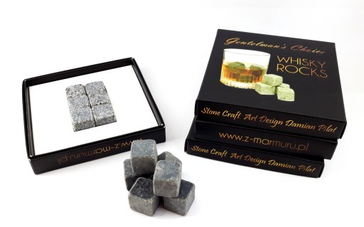 Kamienne Kostki Do Drinkow Whisky Stones Pudelko 8232327326 Allegro Pl