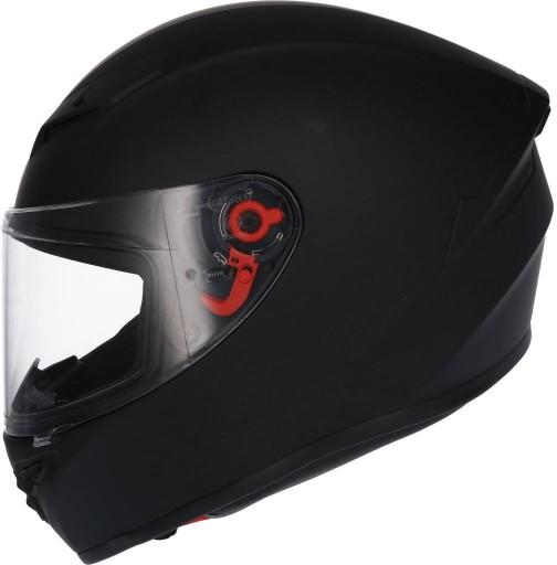Kask na motocykl SHIRO SH-870 czarny mat XL(60-61)
