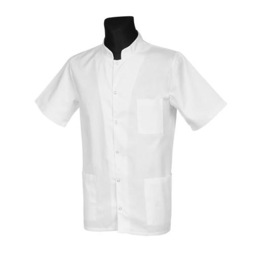 Bluza medyczna męska ze stójką, r. 54