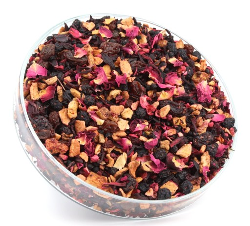 Herbata owocowa KRAINA ŁAGODNOŚCI świetny smak 50g