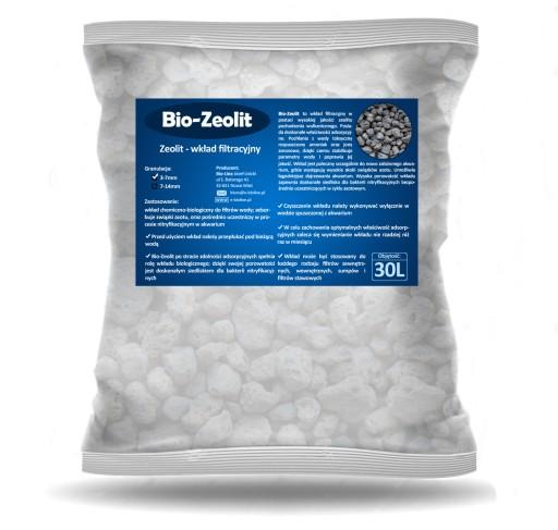 BIO-ZEOLIT 1L wkład wulkaniczny usuwa NH3 NH4 NO2
