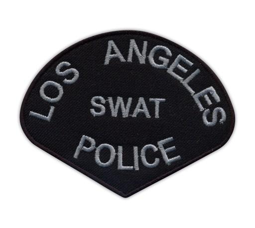 S.W.A.T. Naszywka - LOS ANGELES SWAT POLICE haft