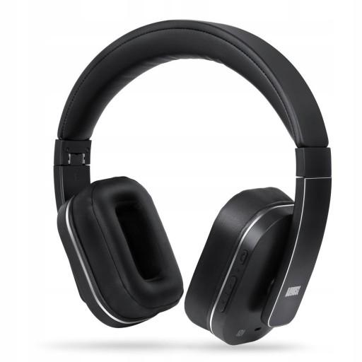 August EP750 Słuchawki Bluetooth AptX z ANC
