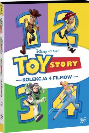 TOY STORY 1-4 PAKIET [BOX 4 DVD]