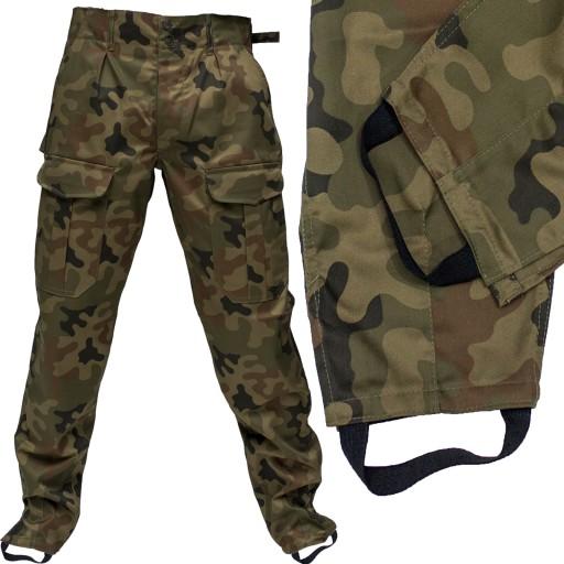 Spodnie męskie wojskowe BOJÓWKI MORO od S 3XL XXL