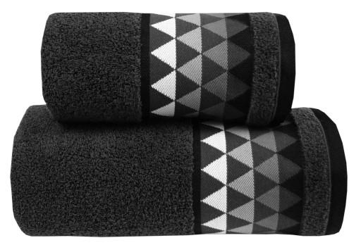 Ręcznik Men Way 70x140 Grafit Greno Mikrobawełna
