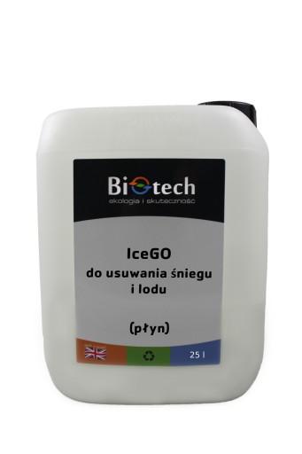 IceGO 25 L - eko sól drogowa / chlorek magnezu