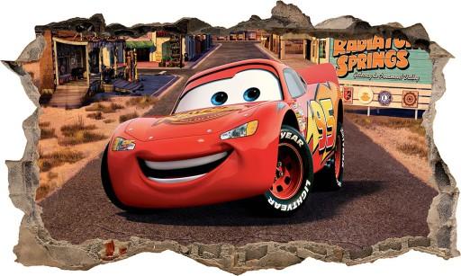 Naklejka Plakat Na ścianę Auta Cars 3d Xxl